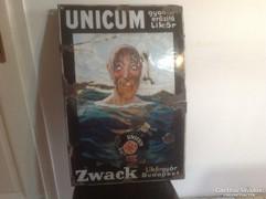 A Vizes ember ,Unicum zománc Tábla 1915 körül