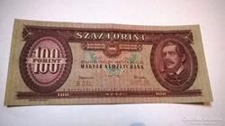 1962-es ropogós 100 forintos bankjegy!