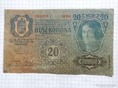 20 Korona 1913  !! 2-ik kiadás !! ( 3 )