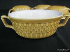 4 db Gránit kerámia kétfülű csésze