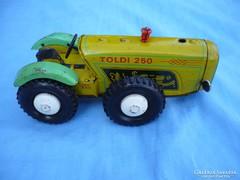Retró lemezjáték Toldi 250 lemez traktor!