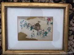 Japan akvarell ,