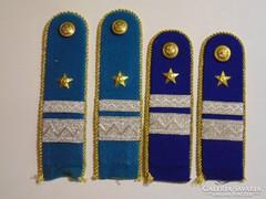 Rendőrségi zászlósi vállapok