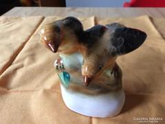 3 db bodrogkeresztúri madár figura együtt