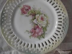 Viktória porcelán tál