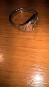 Első világháborús ezüst gyűrű