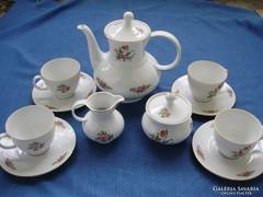 Gyönyörű Sellmann Welden Bavaria teáskészlet 4 személyes