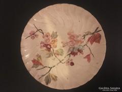 Festett kínai fajansz tányér