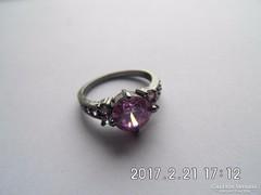 Zafír köves gyűrű
