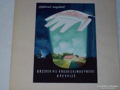 VAJDA LAJOS: Plakát