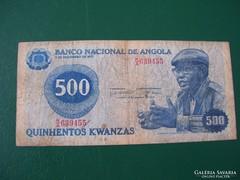 Angola 500 Kwanzas 1975.