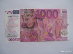 1000 Euro / Fantázia Pénz/ Euro Eros.