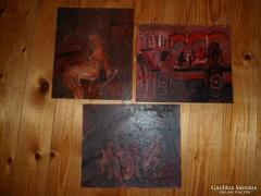 Három festmény! Vaszary János vagy tanítványa?