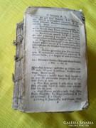 Antik könyv ,latin nyelvű