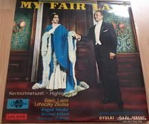 Hanglemez/My fair lady musical