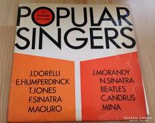 Hanglemez/Popular singers/Híres zenészek