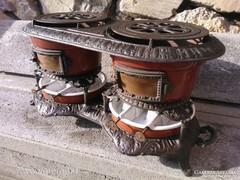 Csodás Victoriánus Olaj melegítő kályha petróleum tűzhely