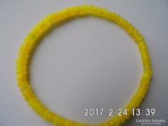 Sárga topáz karkötő