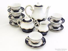 Zsolnay 6.sz.kávés készlet (Szeg-R48841)