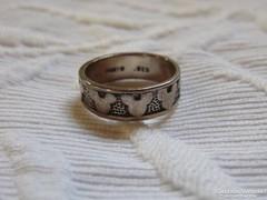 Vintage Disney ezüst gyűrű