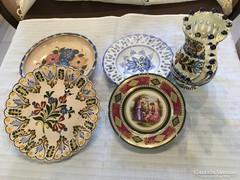 Kézzel festett tányérok