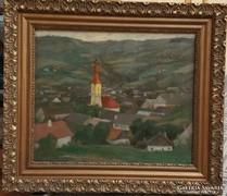 Mund Hugó(1892-1961):Székely falu