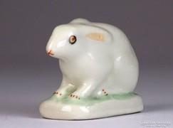 0K790 Régi Aquincum porcelán nyúl nyuszi figura