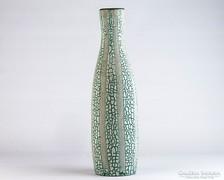 0K794 Retro iparművészeti kerámia váza 31 cm