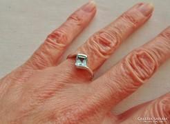 Szépséges kis régi ezüst gyűrű