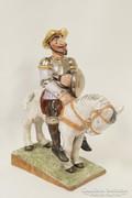 Ritka Izsépy Don Quijote kerámia