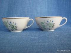 Kispesti porcelán csésze pár