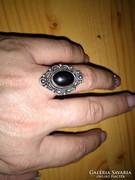Régi,gyönyörű hematit köves gyűrű