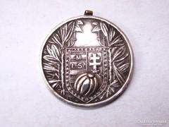 MLSZ 1941.I.O.Déli cs. I.hely. ezüst érem.
