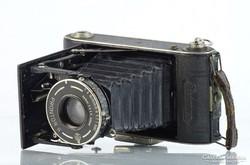 0L253 Antik PRONTOR PRIMUS fényképezőgép tokjában
