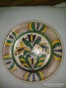 Korondi falitányér, tányér