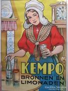 KEMPO limonádé plakát kb 1920.-50%