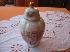 Angol kis  fedeles váza vagy valami tartó.......