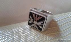 Emporio Armani ezüst pecsétgyűrű