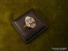 Gyémántos antik art deco gyűrű
