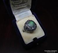 Régi ezüst gyűrű türkiz kővel