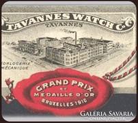 TAVANNES WATCH Co. Embléma Swiss Made!!! EST 1891