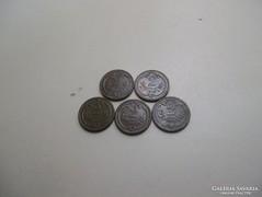 5 db 2 Heller 1912!!! VF!!!!