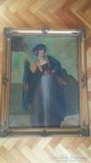 Eladó Bernáth Ilma (1891 - 1961)- A spanyol nő című festmény