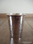 Ezüst keresztelő pohár Marika