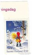 Finnoország karácsonyi bélyeg 1978