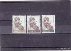 Írország karácsonyi bélyegek 1978