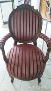 Biedermeier fotel felújított