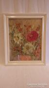 Kékesné Dézsi Éva virágcsendélet festmény