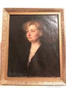 Gyönyörű női portré - Lotz szignóval
