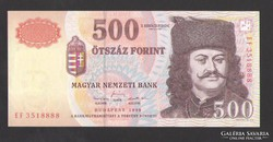"500 forint 1998. ""EF"".  UNC!!!"